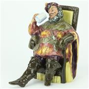 Sale 8332 - Lot 94 - Royal Doulton Figure Foaming Quart by Peggy Davies