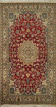 Sale 8424C - Lot 62 - Persian Nain 210cm x 113cm