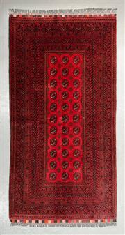 Sale 8472C - Lot 34 - Afghan Kunduzi 192cm x 100cm