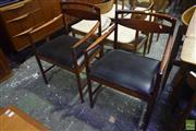 Sale 8550 - Lot 1060 - Pair of McIntosh Teak Carver Chairs