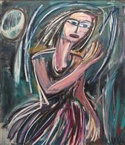 Sale 8821A - Lot 5014 - Vicki Varvaressos (1978 - ) - Moonwash, 1994 122 x 107cm