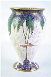 Sale 8844O - Lot 548 - A Carlton Ware Bird Themed Vase (H 20cm Dia 11cm)