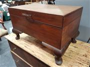 Sale 8863 - Lot 1063 - Blanket Box with Contents