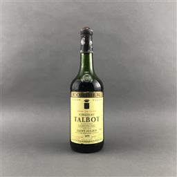 Sale 9120 - Lot 1065 - 1975 Chateau Talbot, 4me Cru Classe, Saint-Julien - low shoulder