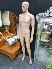 Sale 8424 - Lot 1012 - Plastic Male Mannequin