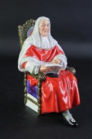 Sale 8844O - Lot 501 - Royal Doulton The Judge Figure