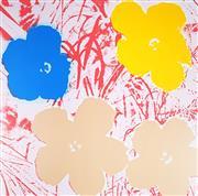 Sale 9034A - Lot 5044 - Andy Warhol (1928 - 1987) - Flowers, 11.70 90 x 90 cm (116 x 116 x 4 cm)