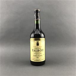 Sale 9120 - Lot 1063 - 1976 Chateau Talbot, 4me Cru Classe, Saint-Julien