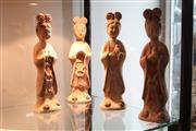 Sale 8308 - Lot 79 - Earthenware Geisha Figures (4)