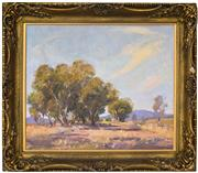 Sale 8401 - Lot 546 - James R. Jackson (1882 - 1975) - Landscape of Taralga 48.5 x 58cm