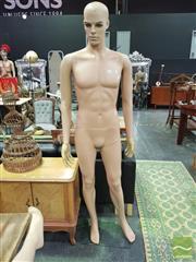Sale 8424 - Lot 1049 - Plastic Male Mannequin