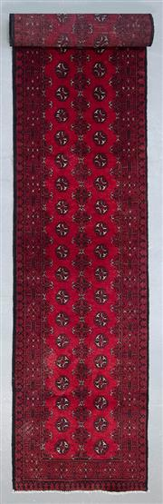 Sale 8480C - Lot 64 - Afghan Turk Runner 480cm x 85cm