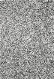 Sale 8696 - Lot 515 - Jeannie Petyarre (1956 - ) - Bush Yam Leaves 205 x 140cm