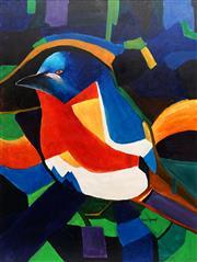 Sale 8847A - Lot 5067 - Greg Lipman (1938 - ) - Cosmos Beauty 121.5 x 91cm