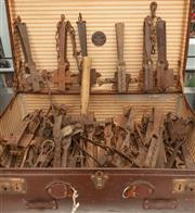 Sale 8984W - Lot 602 - A CE Kitching Ltd. of George St port containing a large quantity of rabbit traps.