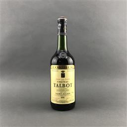 Sale 9120 - Lot 1064 - 1976 Chateau Talbot, 4me Cru Classe, Saint-Julien - into neck