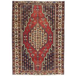 Sale 9124C - Lot 43 - Persian Antique Mazlagan Rug, Circa 1940, 190x135cm, Handspun Wool
