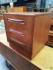 Sale 8607 - Lot 1084 - G-Plan Teak Chest of Three