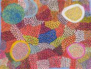 Sale 8733A - Lot 5001 - Ngiyu Watson (c1945 - ) - Untitled, 2006 68 x 89cm (stretched and ready to hang)