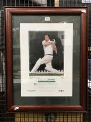Sale 8863S - Lot 39 - Keith Miller Cavelier, one of 500 signed by the great all-rounder.