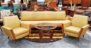 Sale 8930 - Lot 1030 - Paul Kafka 3 Piece 5 Lounge Suite