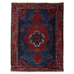 Sale 9124C - Lot 44 - Antique Caucasian Kazak Rug, Circa 1950,173x229cm, Handspun Wool