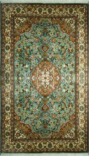 Sale 8290A - Lot 38 - Kashmiri Silk 167cm x 96cm RRP $2000
