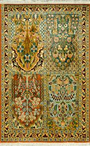 Sale 8321C - Lot 25 - Kashmiri Silk 125cm x 80cm RRP $1200