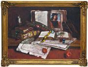 Sale 8349A - Lot 109 - Hungarian School (XX) - Still Life 58 x 77.5cm