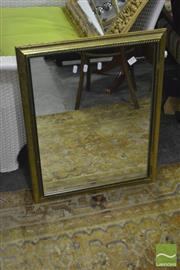 Sale 8398 - Lot 1068 - Gilt Framed Mirror