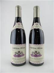 Sale 8423 - Lot 655 - 2x 2012 Chateau Pegau Cuvee Setier, Cotes-du-Rhone Villages