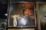 Sale 8410T - Lot 2031 - Artist Unknown (XX) - Still Life 72 x 72cm (frames size)