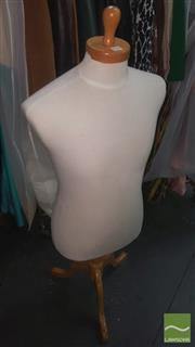 Sale 8424 - Lot 1014 - Fabric Dress Makers Mannequin