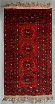 Sale 8472C - Lot 37 - Afghan Qunduzi 200cm x 100cm