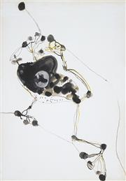 Sale 8492A - Lot 5039 - John Olsen (1928 - ) - Frog & Fly 74 x 51.5cm (sheet size: 85.5 x 61cm)