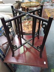 Sale 8637 - Lot 1051 - Oriental Folding Table Base