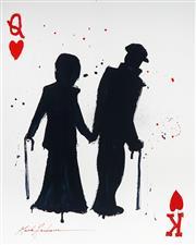 Sale 9034A - Lot 5010 - Mark Hanham (1978 - ) - Queen and King 102 x 82 cm (125 x 103 x 3 cm)