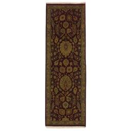 Sale 9124C - Lot 45 - India Nagri Rug, 81x244cm Handspun Wool