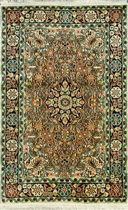 Sale 8321C - Lot 26 - Kashmiri Silk 130cm x 80cm RRP $1200