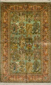 Sale 8439C - Lot 49 - Kashmiri Silk 152cm x 98cm
