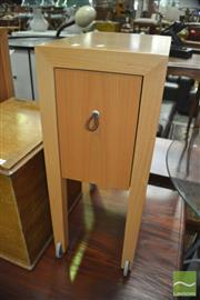 Sale 8431 - Lot 1077 - Pair of Modern Cabinets with Slide Drawers