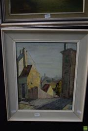 Sale 8569 - Lot 2009 - Christina Leal - Down the Lane, The Rocks 37 x 29.5, 49.5 x 41.5 (frame)