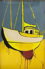Sale 8723A - Lot 5013 - Jasper Knight (1978 - ) - Out of Water 150 x 100cm