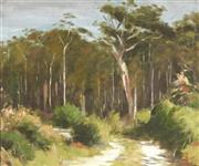 Sale 8819 - Lot 2020 - Albert Rydge (1903 - 1971) - Bush Track 36.5 x 44.5cm