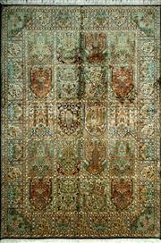Sale 8290A - Lot 39 - Kashmiri Silk 200cm x 127cm RRP $5000