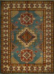 Sale 8439C - Lot 50 - Afghan Kazak 167cm x 125cm