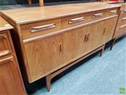 Sale 8607 - Lot 1033 - G-Plan Fresco Teak Sideboard (H: 85 W: 152 D: 46cm)