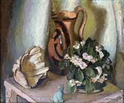 Sale 8808A - Lot 5006 - Adelaide Perry (1891 - 1973) - Still Life with Shell 42 x 50cm