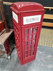 Sale 8822 - Lot 1126 - Telephone Booth Form Display Box