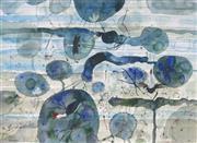 Sale 8896A - Lot 5034 - John Olsen (1928 - ) - Jacanas the Christ Bird, 1983 80.4 x 107 cm